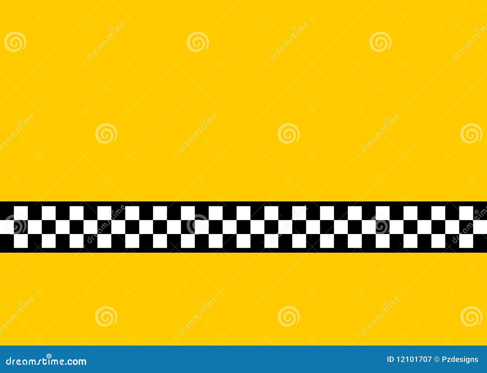 Taksówki kolor żółty