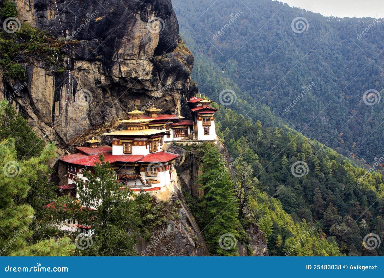 Taktshang Goemba (Tiger verschachteln Kloster), Bhutan
