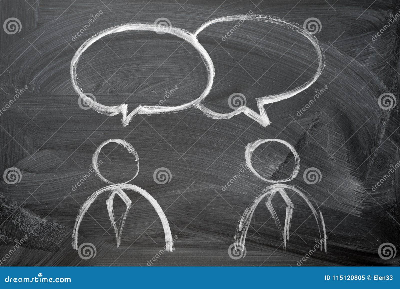 Tala av folk