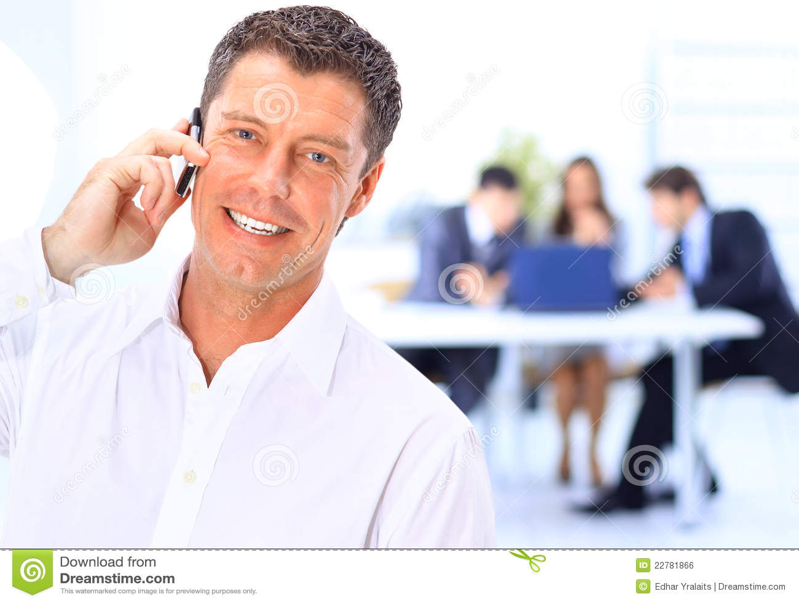 Tala för affärsman