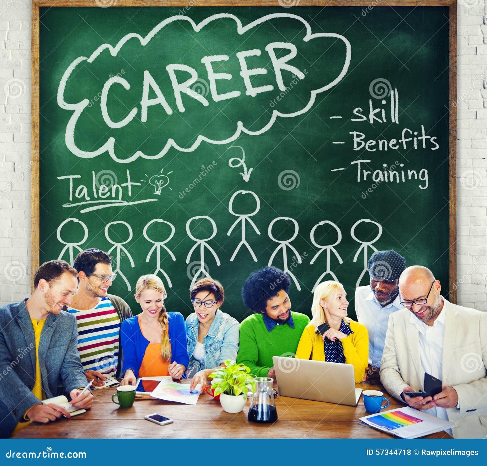Talangen för karriärtalangexpertis drar nytta ockupationbegrepp