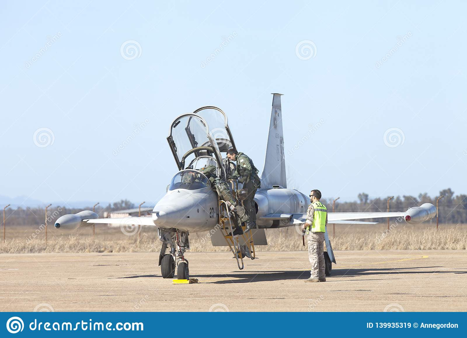 Talavera losu angeles real, Extremadura, militarna baza lotniczy wojsko