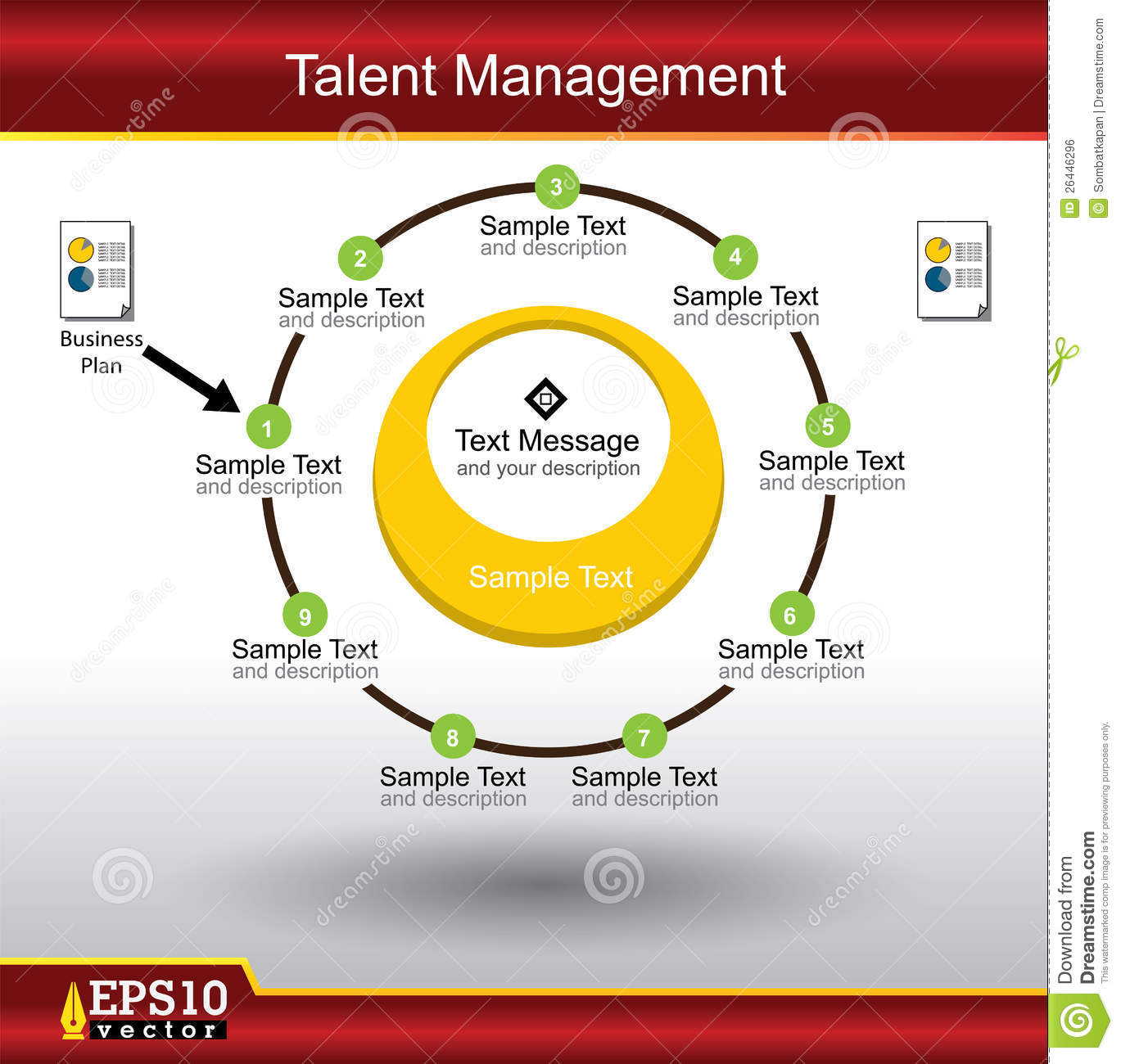 Talent Management Royalty Free Stock Image Image 26446296