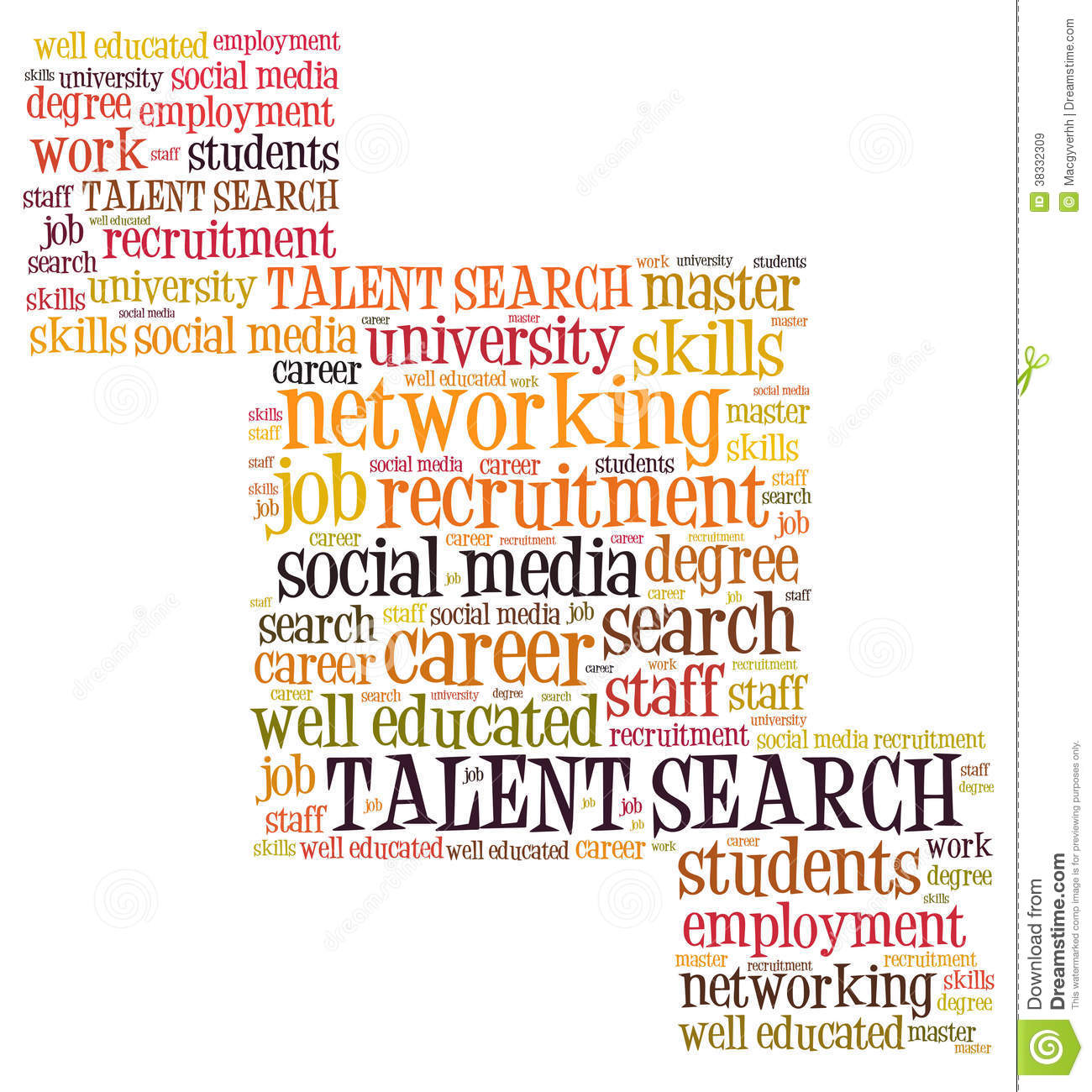 Talent Search Royalty Free Stock Images - Image: 38332309: dreamstime.com/royalty-free-stock-images-talent-search-word-cloud...