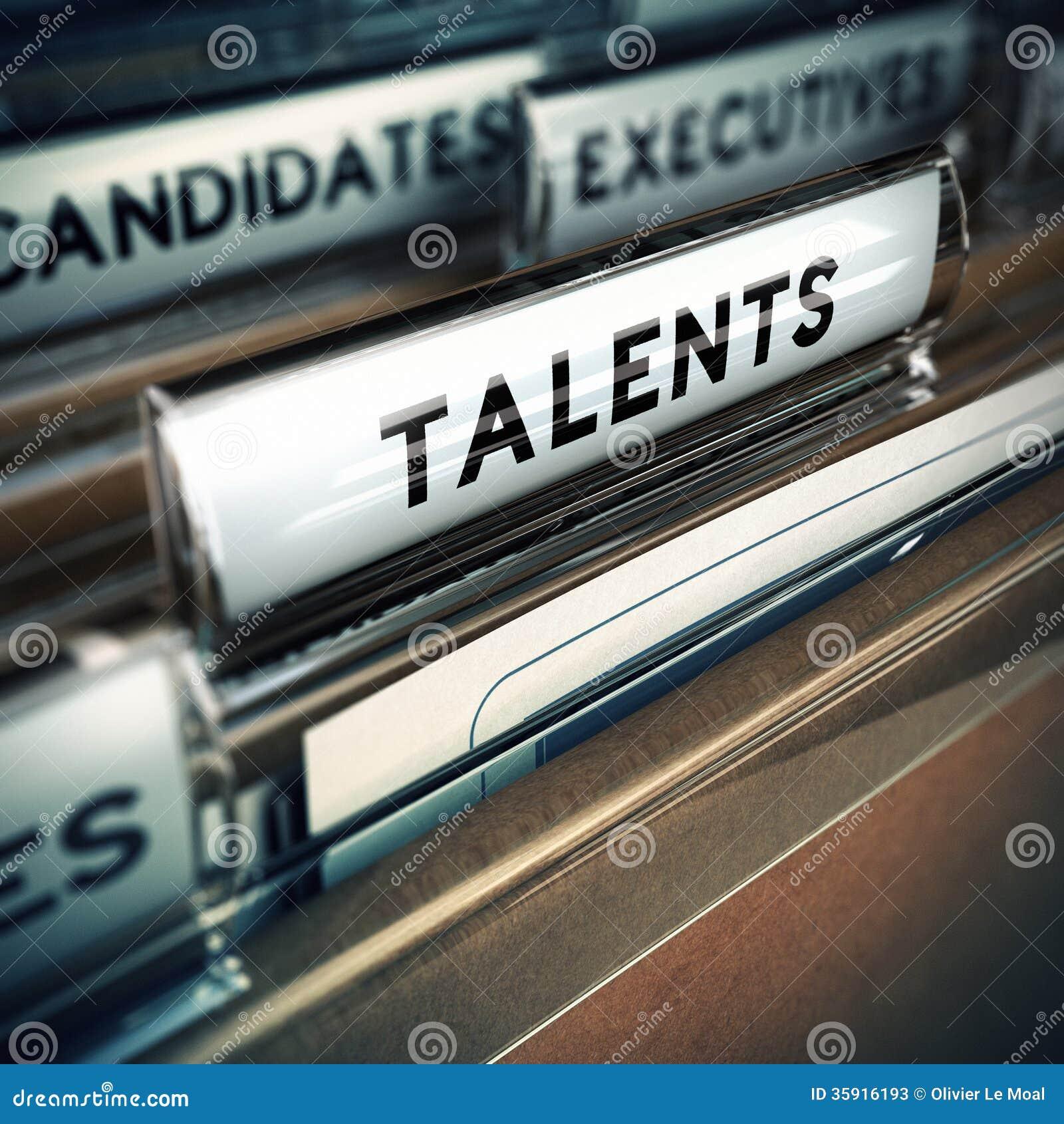 talents recruitment concept stock photos