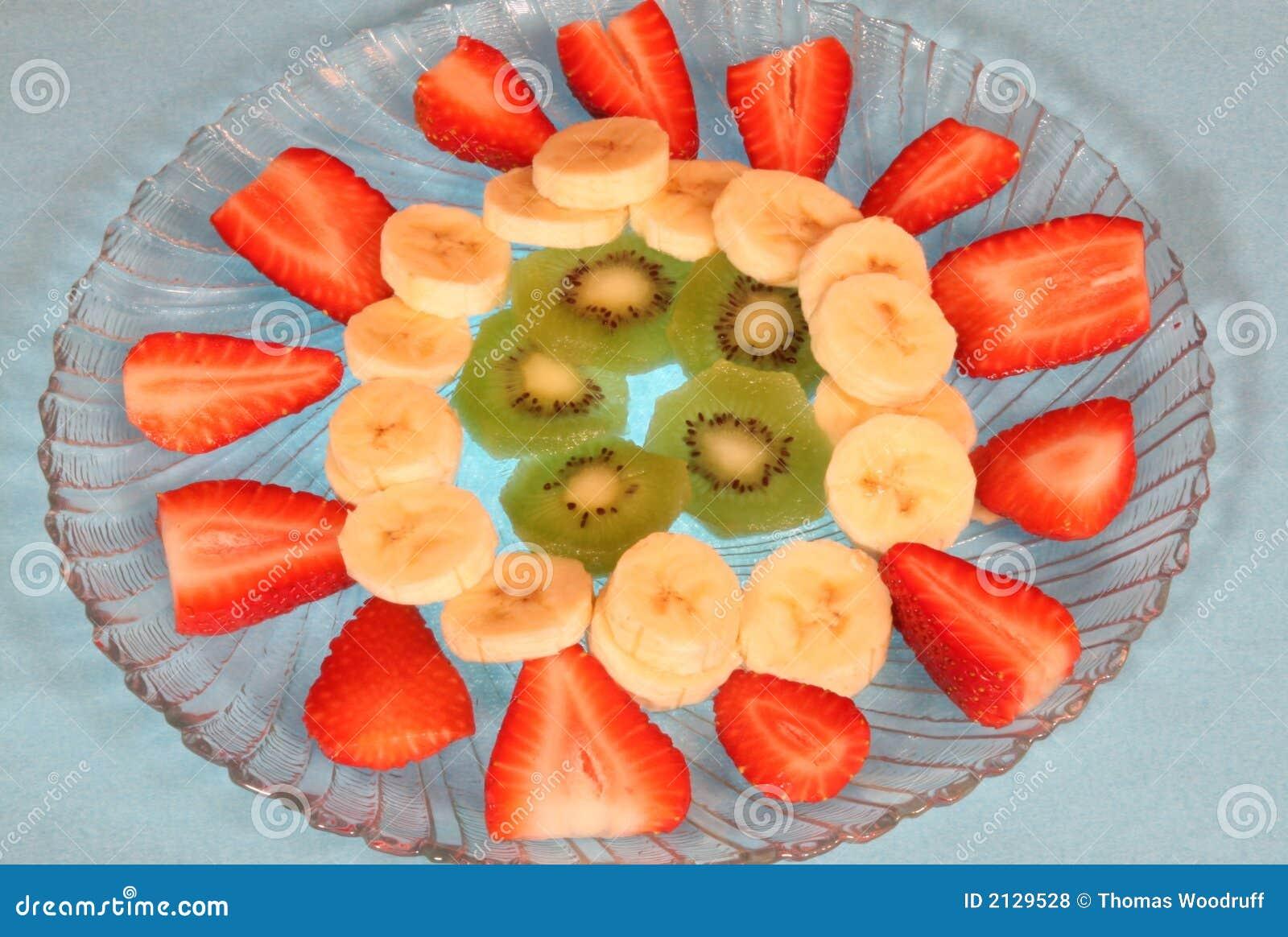 Talerz owoców