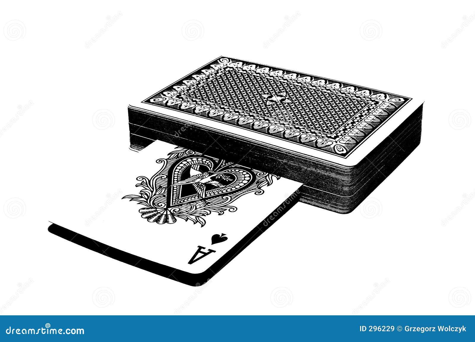 Talię karty