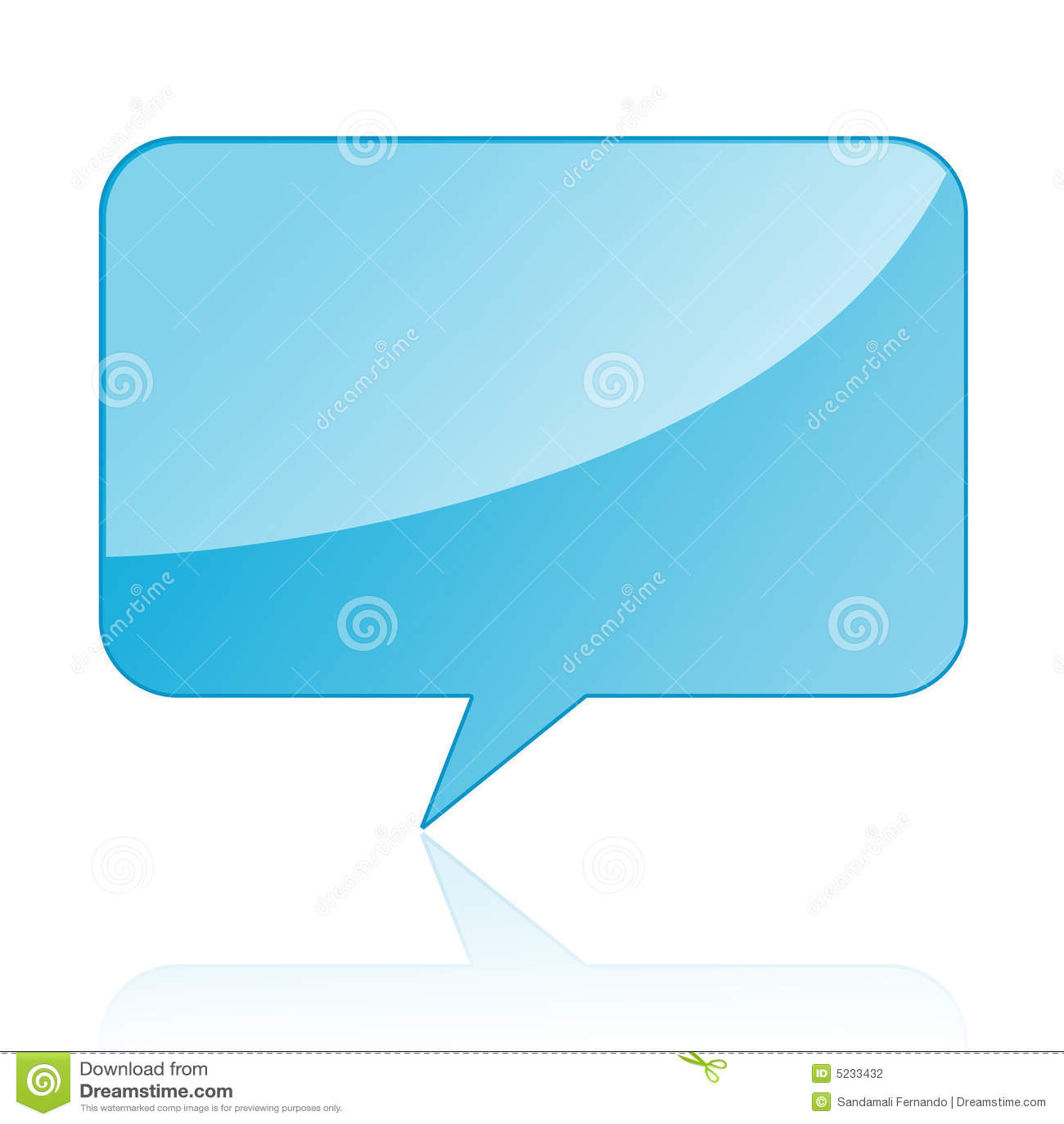 Talk Bubble Speech Stock Vector