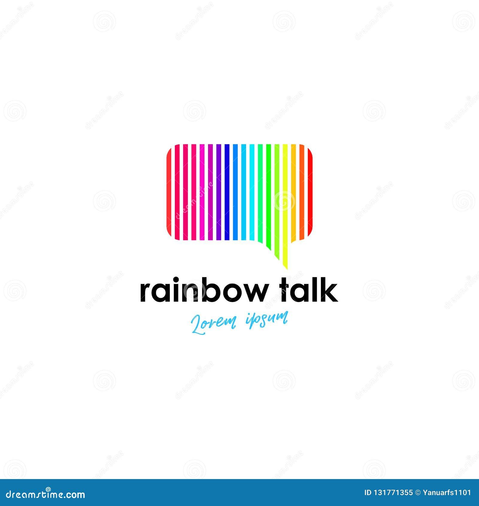 Talk Logo Template Talk Logo Template For Your Business Stock Illustration Illustration Of Idea Education 131771355