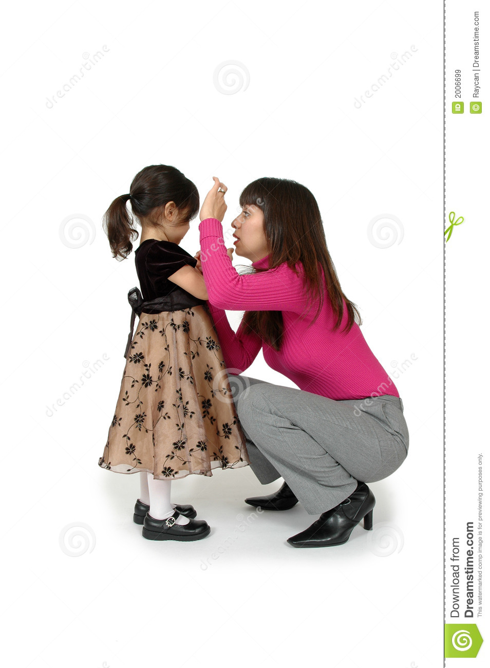 Talking to a Child
