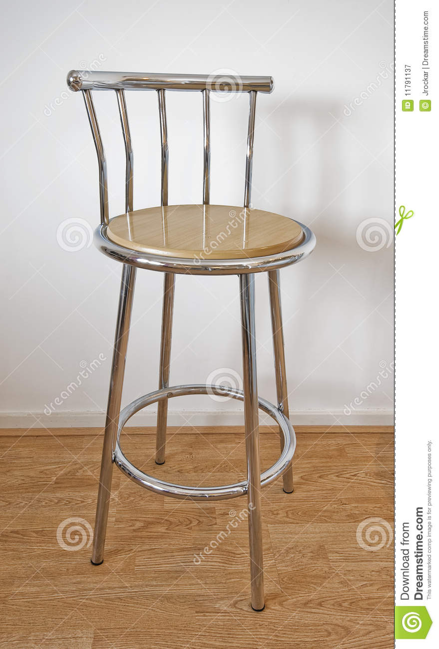 tall bar chair royalty free stock photography - image: 11791137