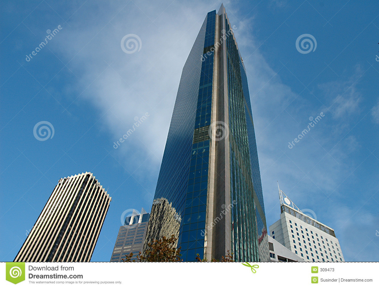 Tall Buildings In The City Of Sydney Stock Photos Image 309473