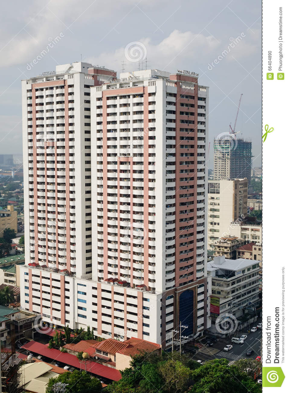 Tall Buildings In Manila Philippines Editorial Image Image