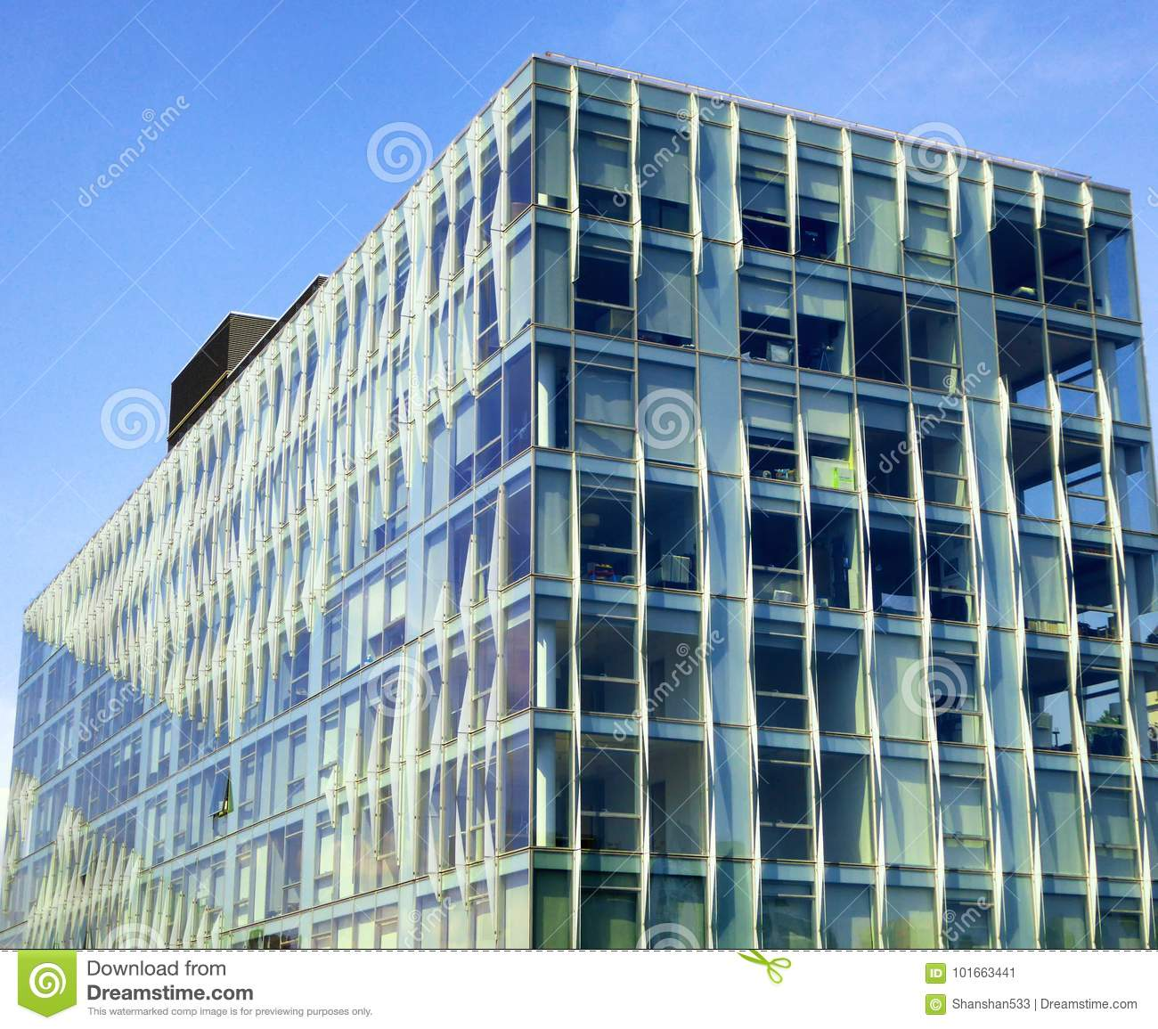 Glass exterior modern office Facade Tall Modern Office Buildings Glass Exterior In New York Street United States Dreamstimecom New York City Office Buildings Glass Exterior Stock Image Image Of