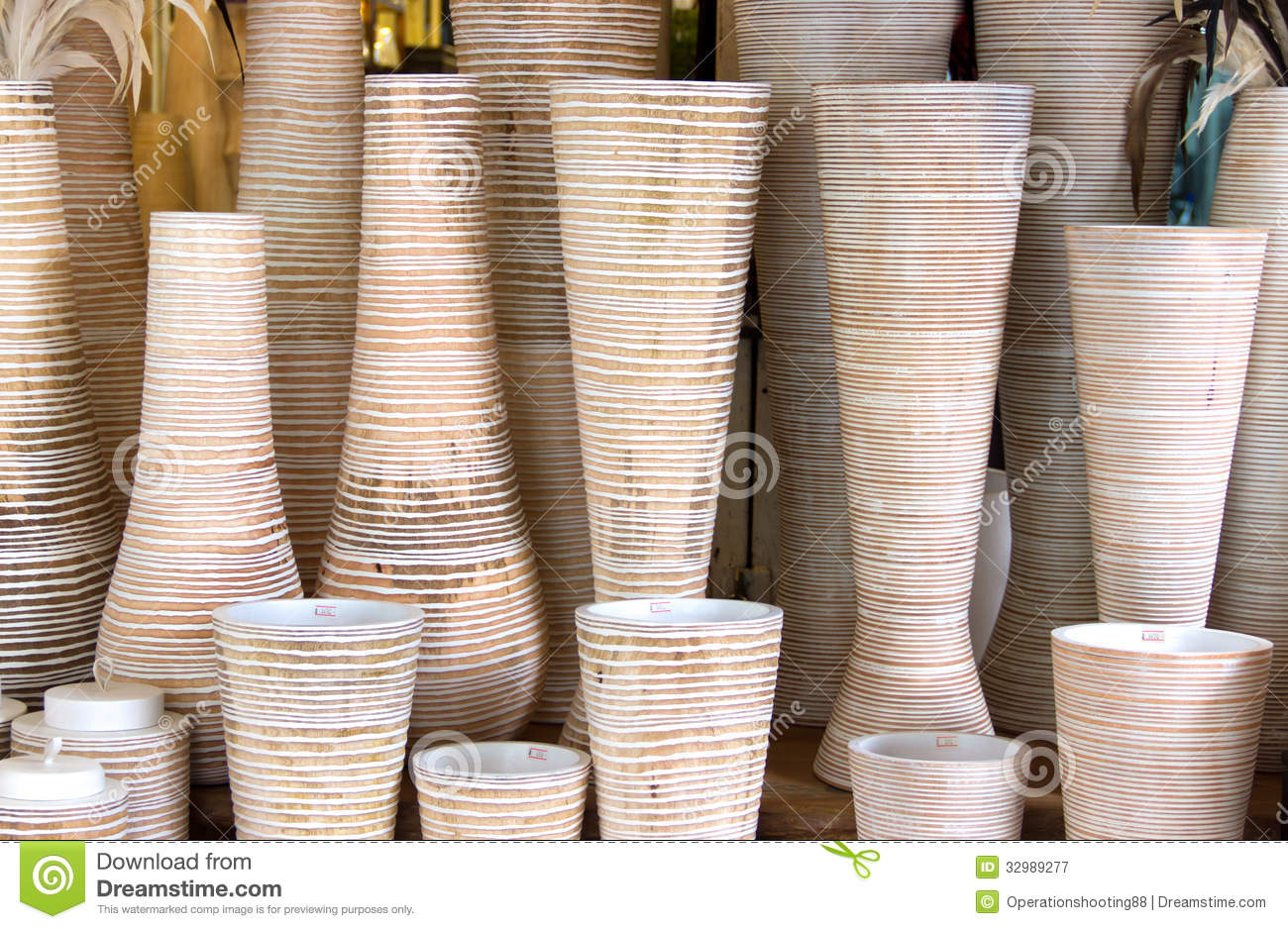 Tall vase made of wood stock image image of brown 32989277 royalty free stock photo reviewsmspy