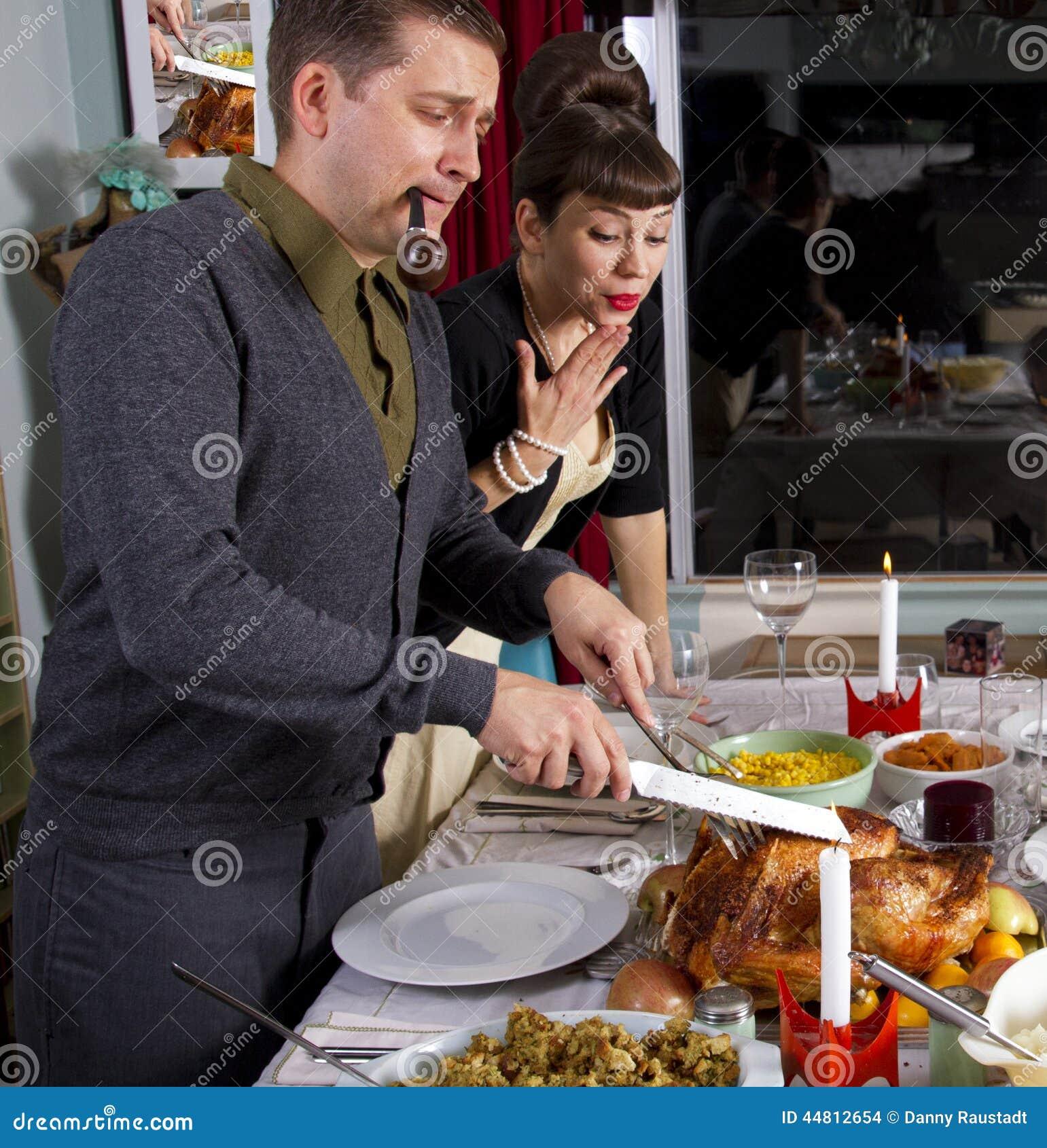 Talla de Turquía de la cena de la acción de gracias