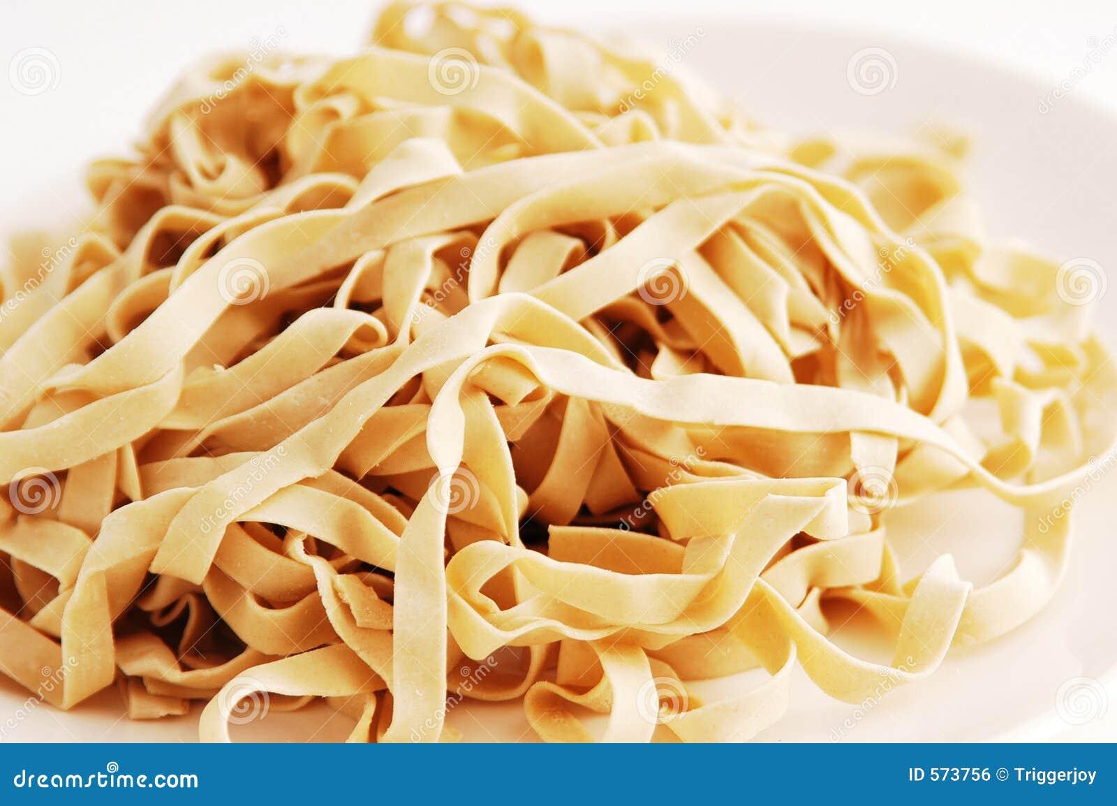 Tallarines de las pastas