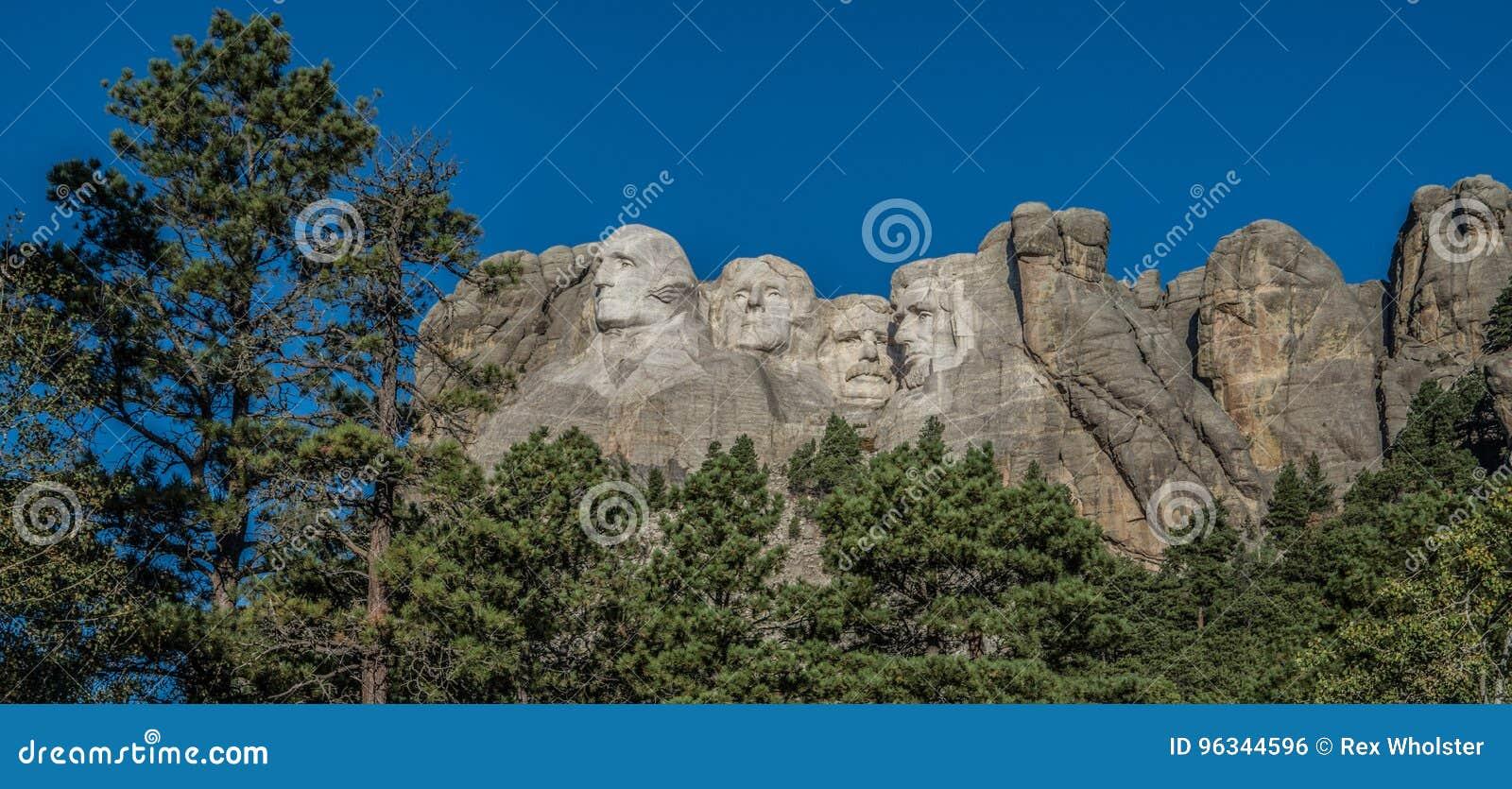Tallas en el monte Rushmore en Dakota del Sur