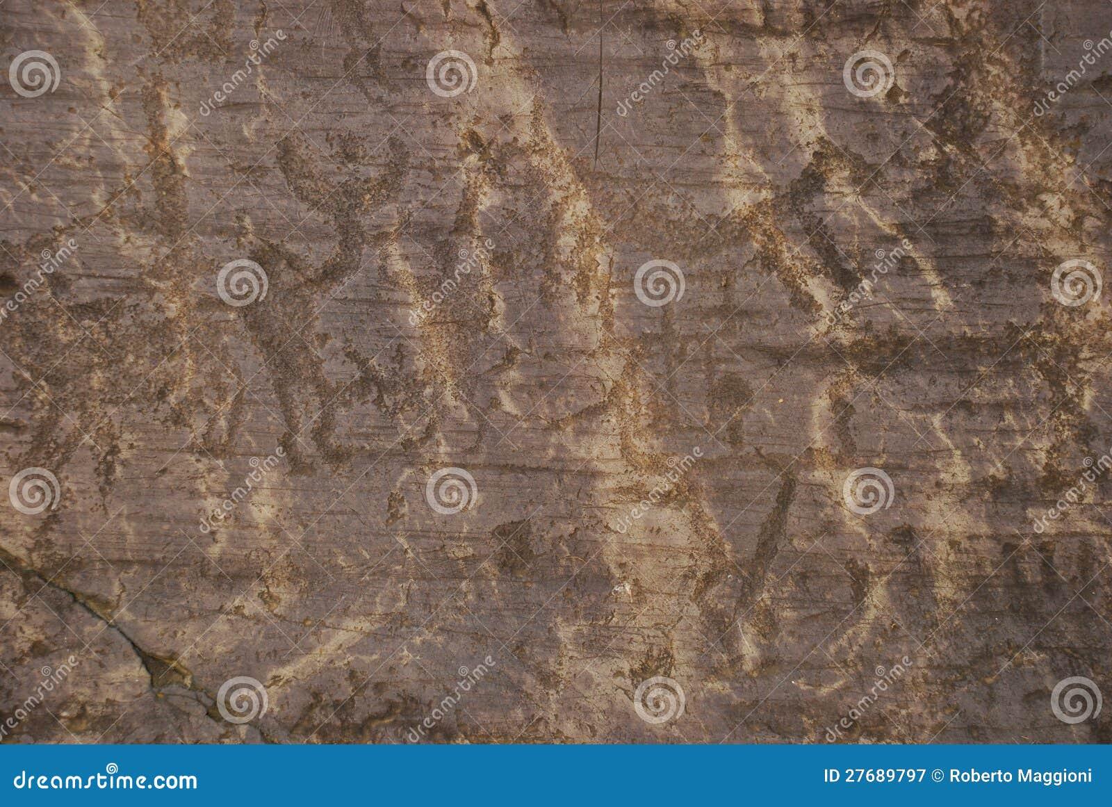 Tallas prehistóricas de la roca