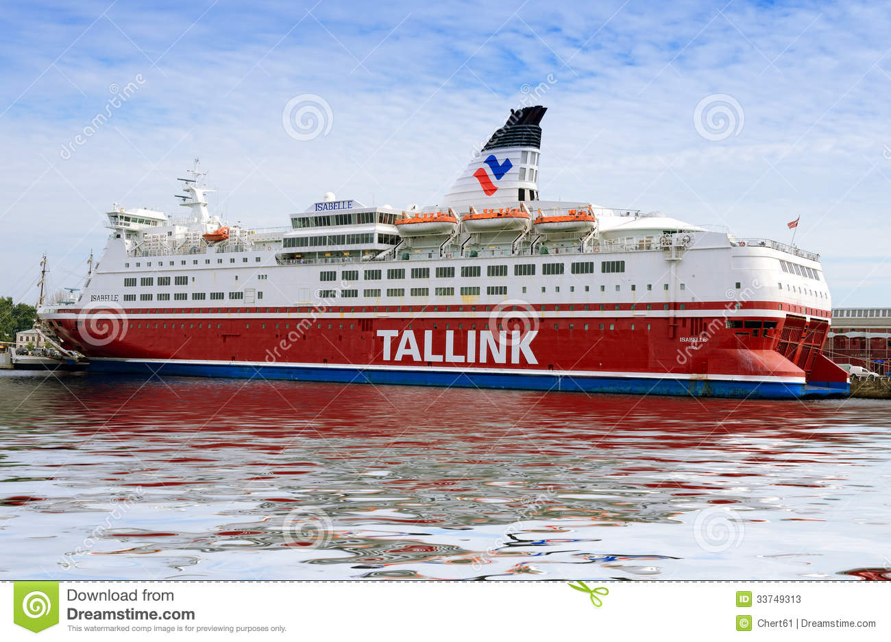 Tallink Ferry Editorial Stock Photo - Image: 33749313
