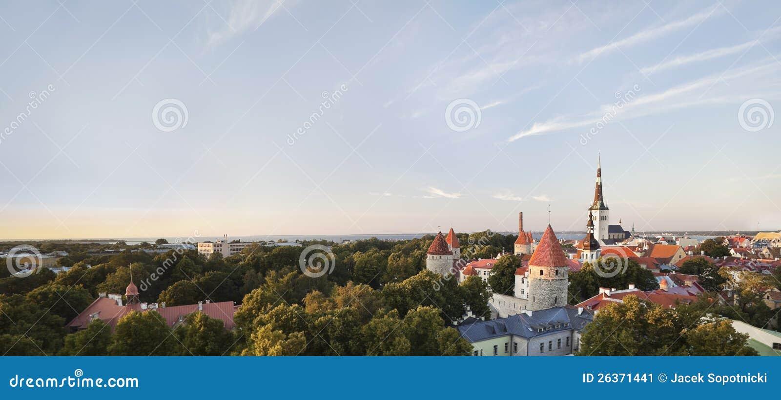Tallinn - capital de Estónia