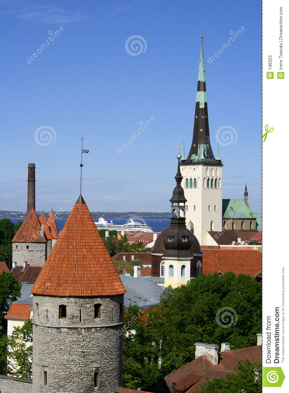 Tallinn - capital de l Estonie