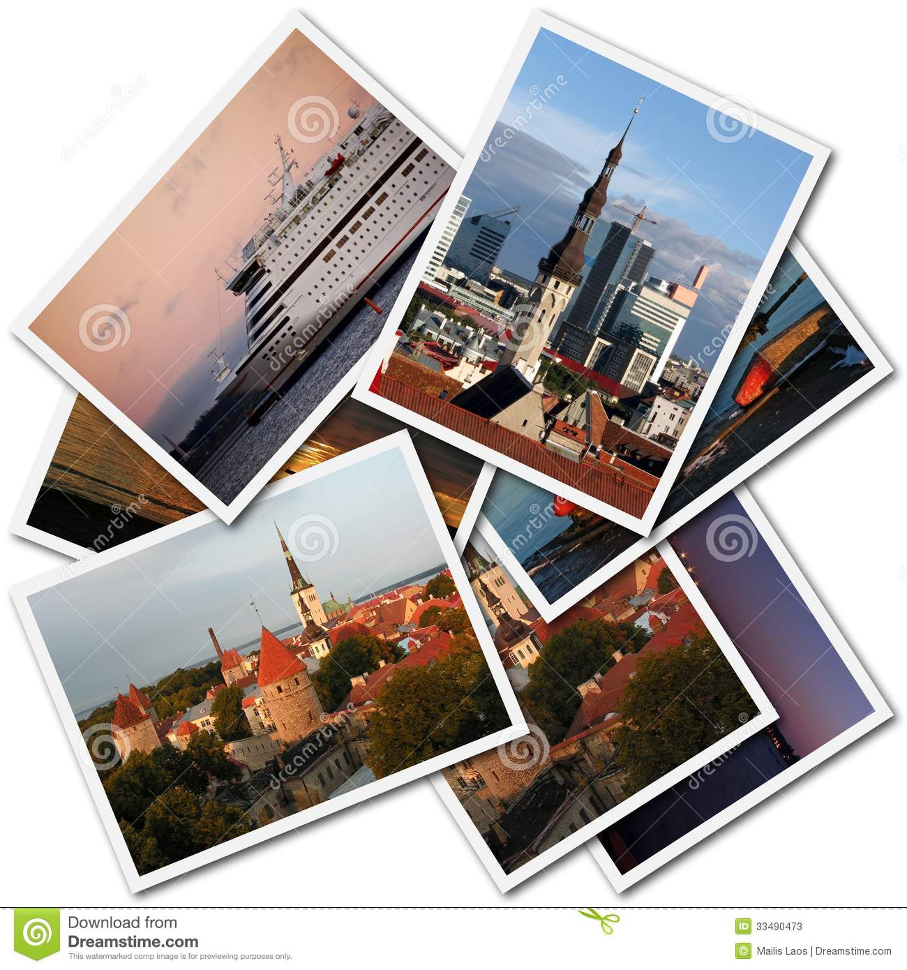 Download Tallinn Photos stock image. Image of images, selection - 33490473