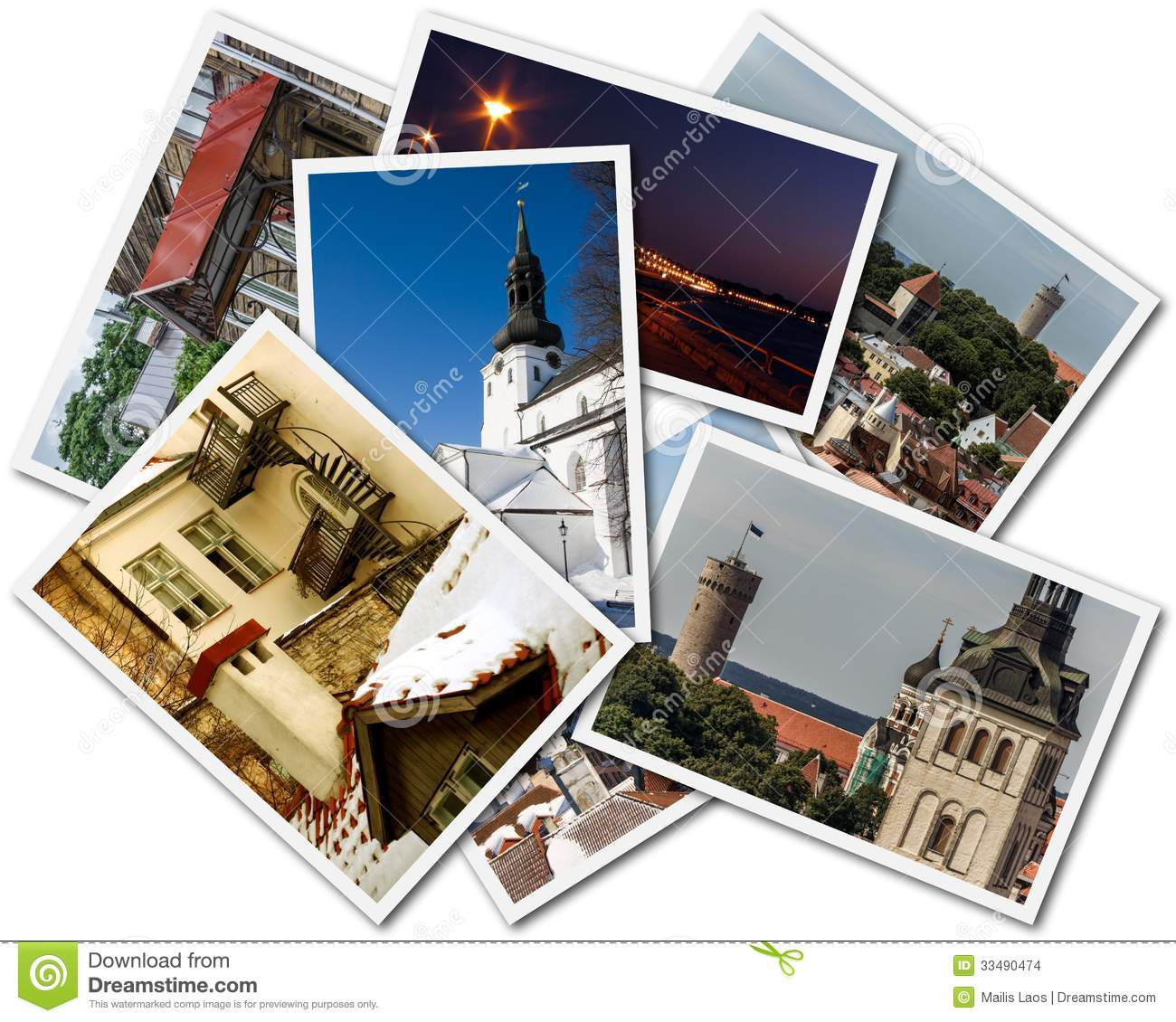 Download Tallinn Photos stock photo. Image of compilation, architecture - 33490474
