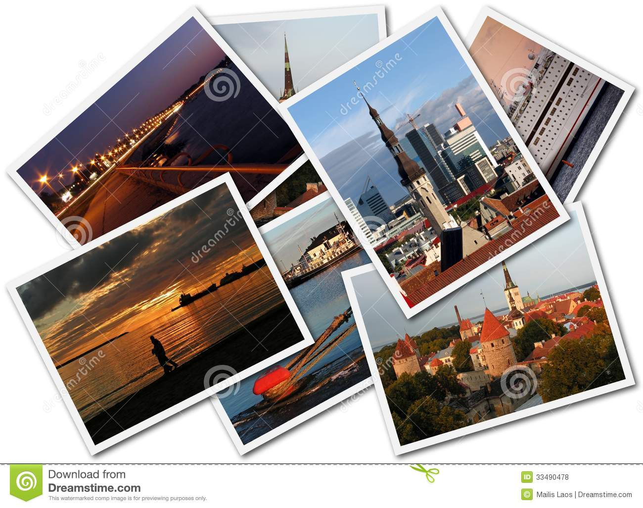 Download Tallinn Photos stock photo. Image of compilation, background - 33490478