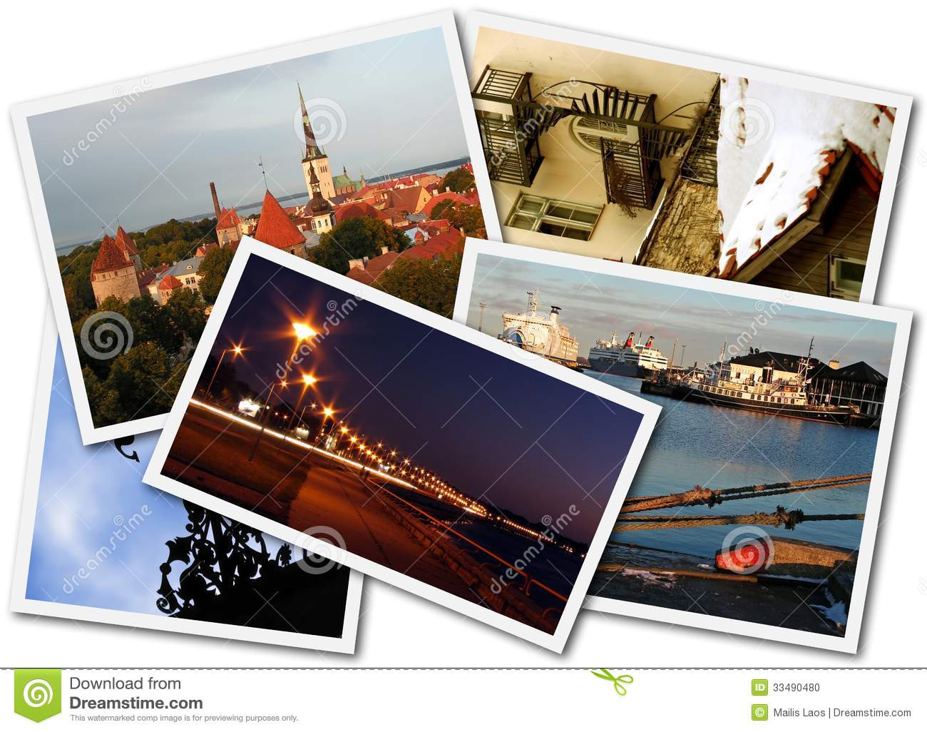 Download Tallinn Photos stock photo. Image of pictures, arrangement - 33490480