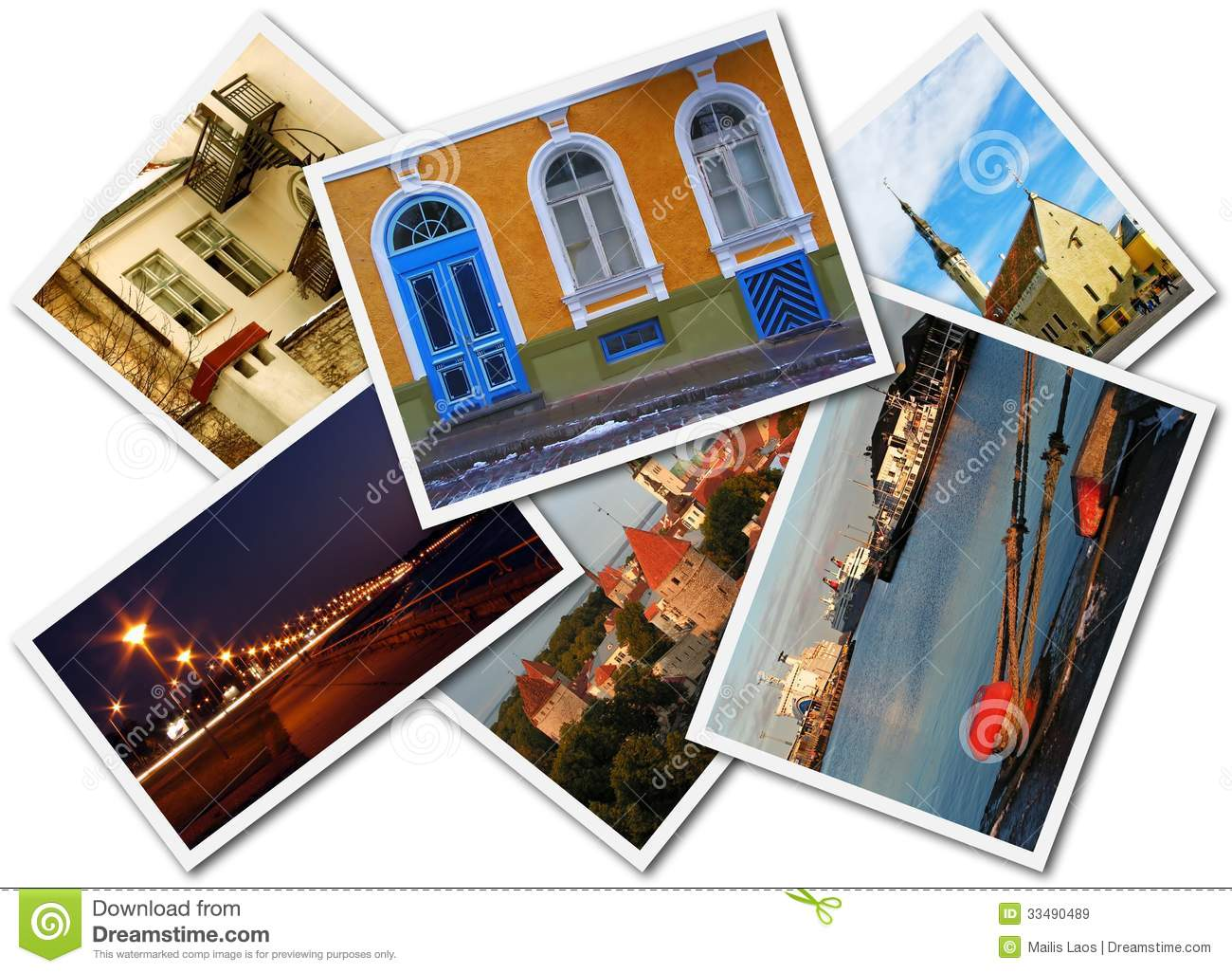 Download Tallinn Photos stock image. Image of architecture, holiday - 33490489