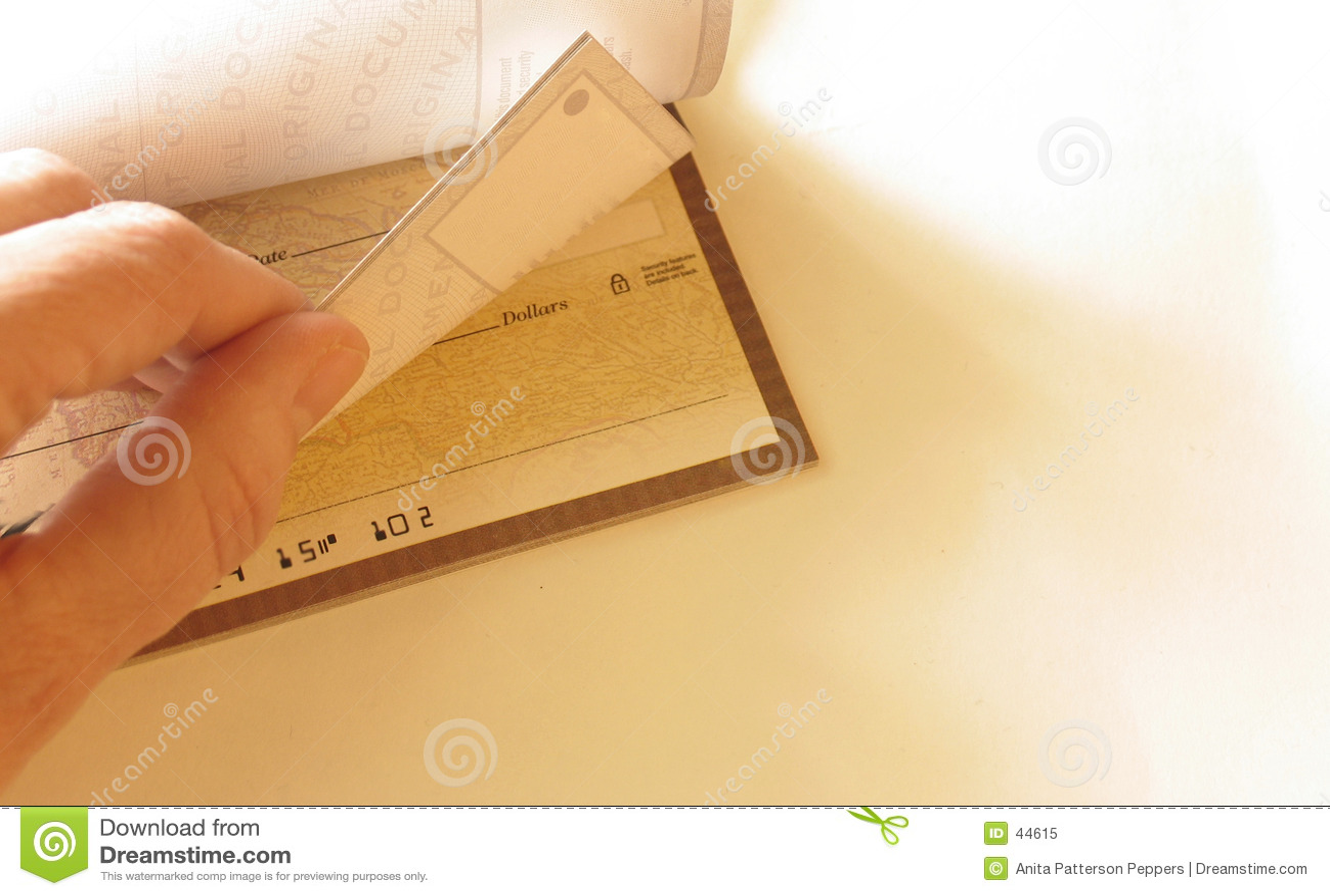 Talonario de cheques