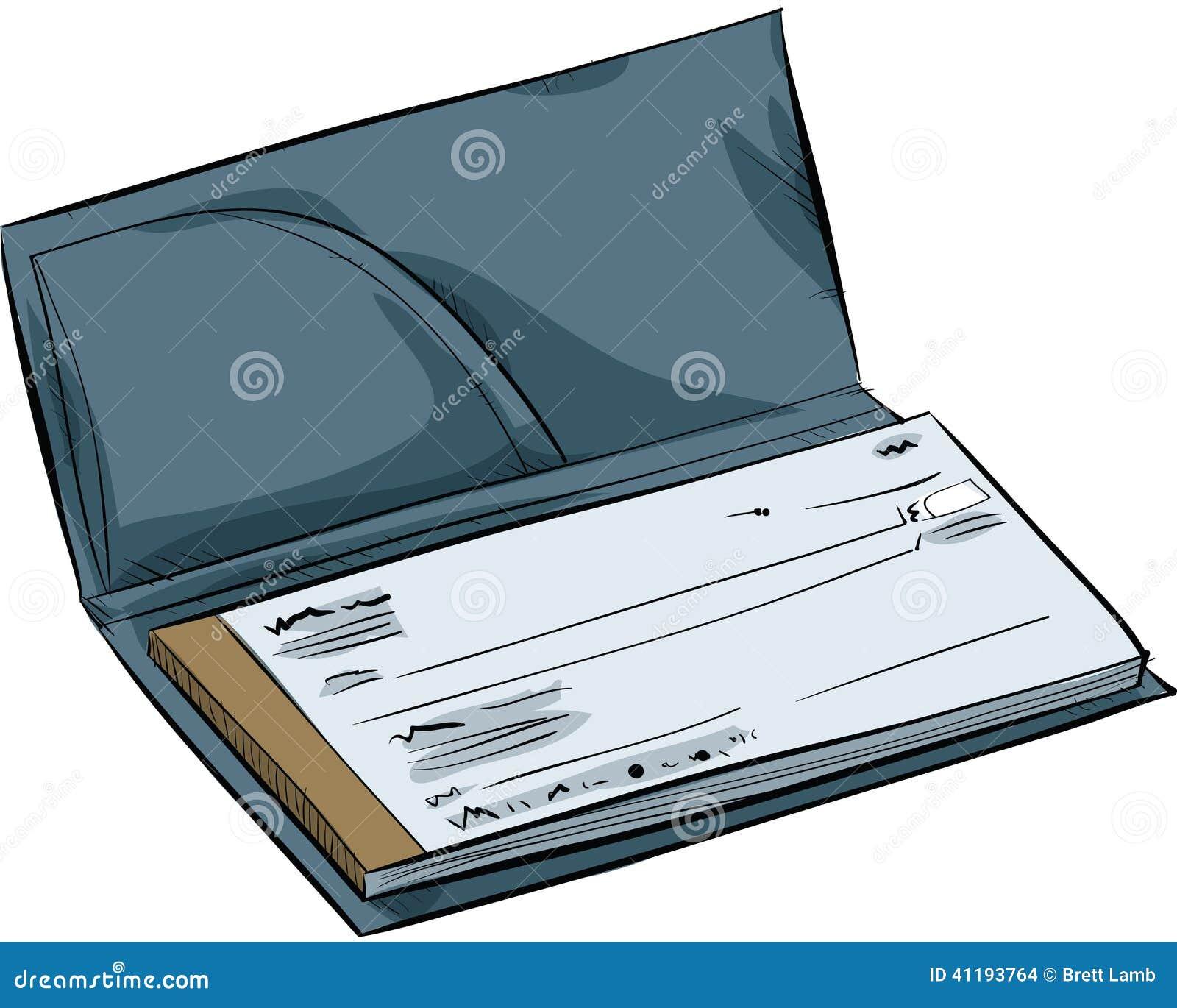 Talonario de cheques de la historieta