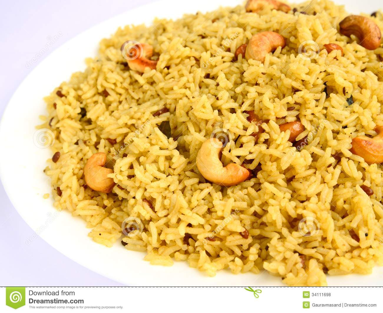 Tamarind Rice:is a South Indian rice preparation usually eaten as a ...