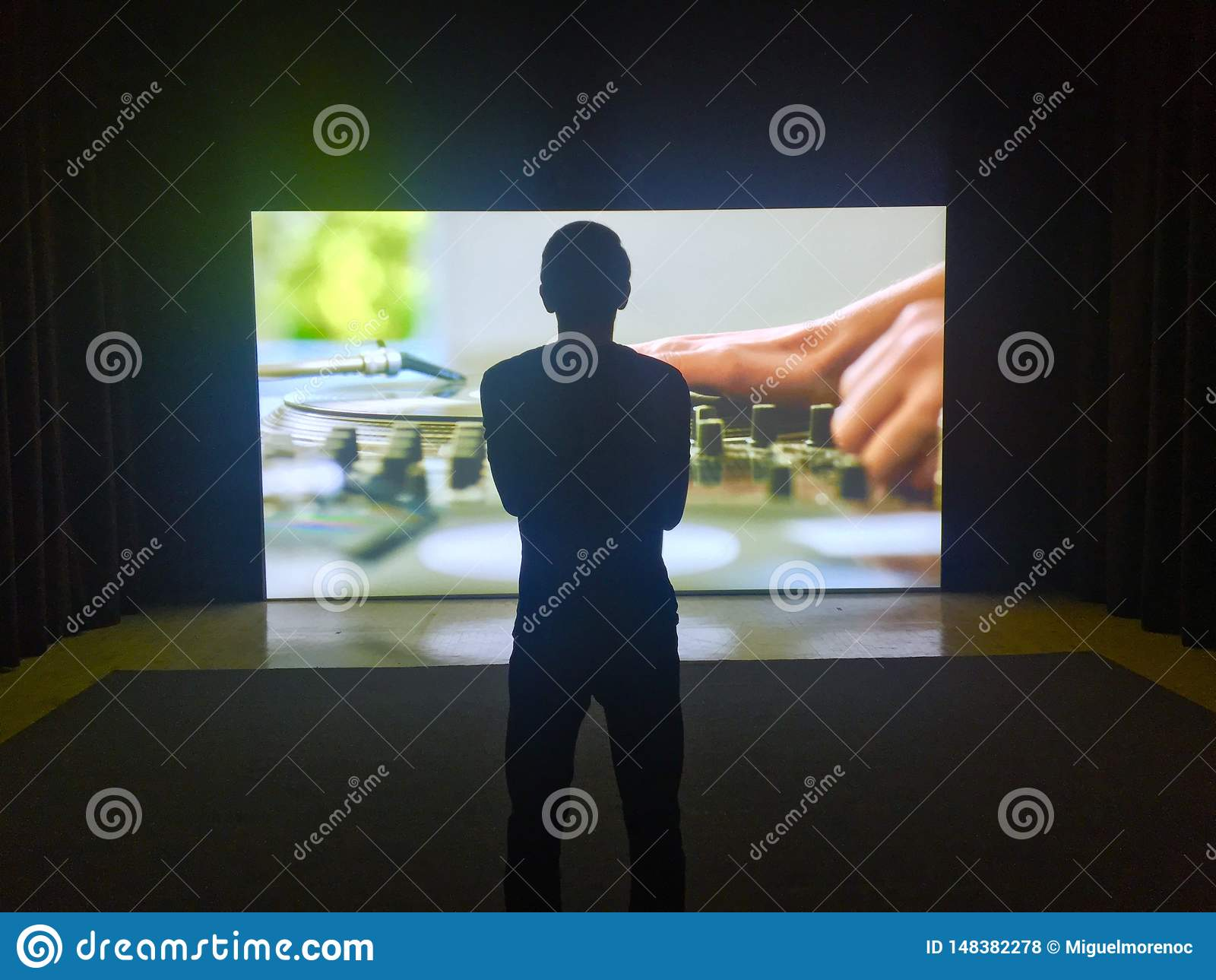 Tamayo Museum Cinematic Apreciating Man