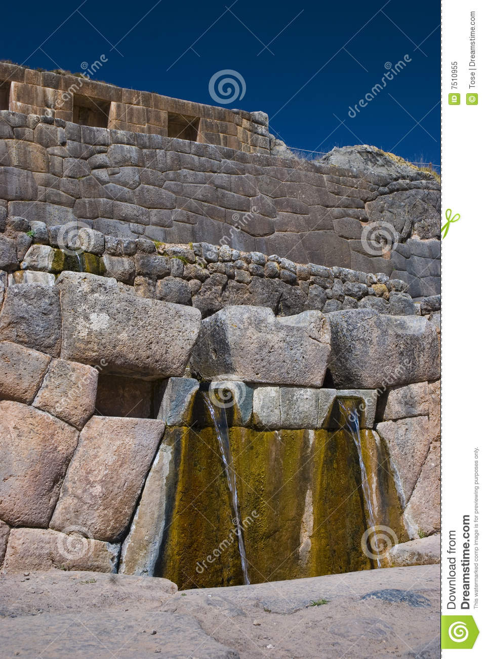 Download Tambomachay Or Bath Of The Inka Stock Image - Image of mystic, sacred: 7510955