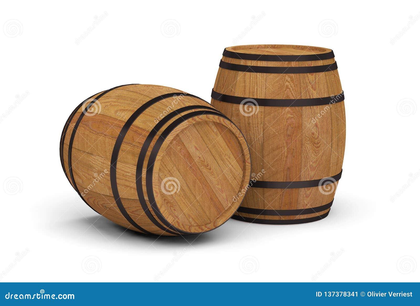 Tambor de cerveja de madeira do álcool dos tambores de vinho