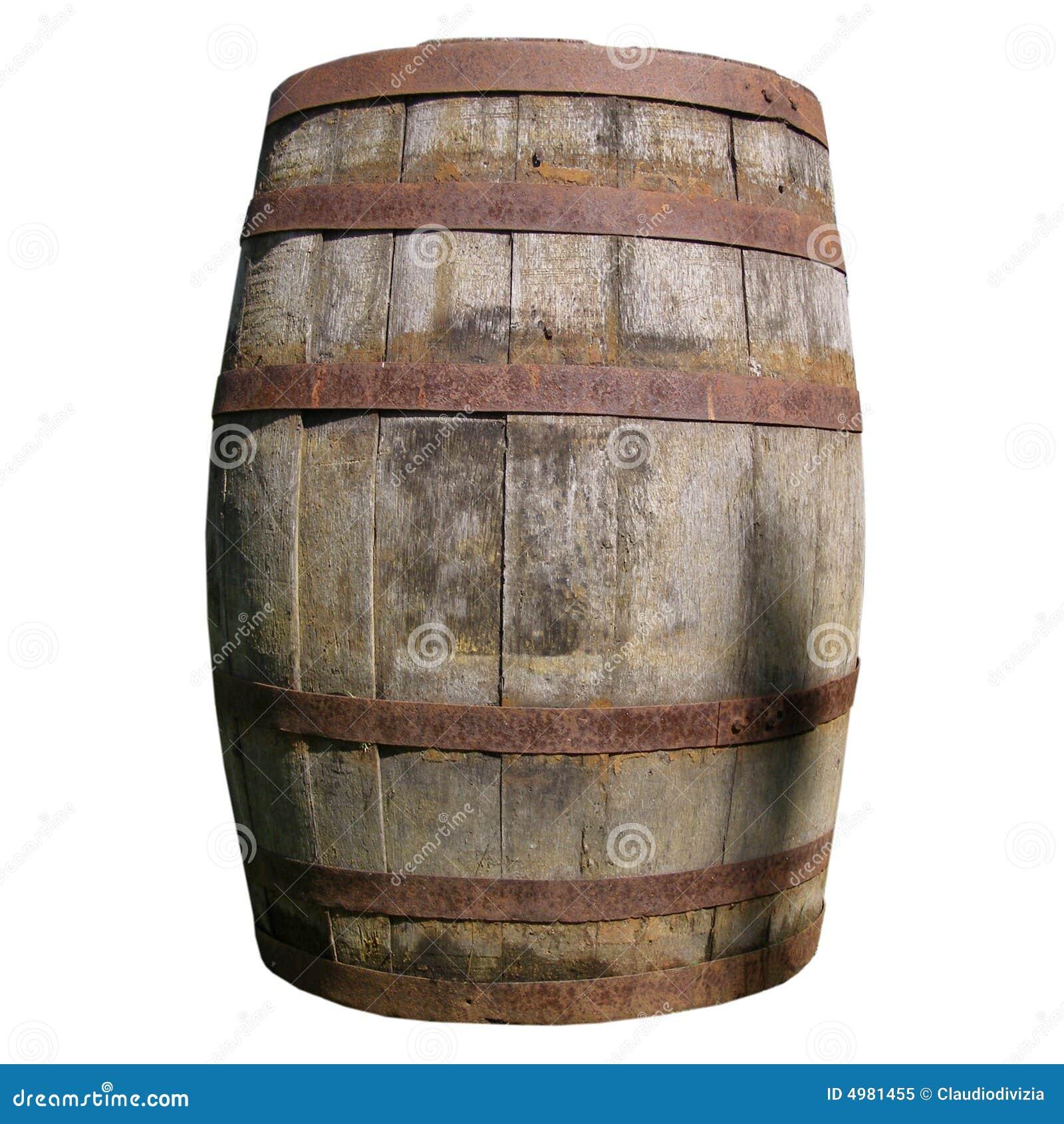 Tambor de madeira