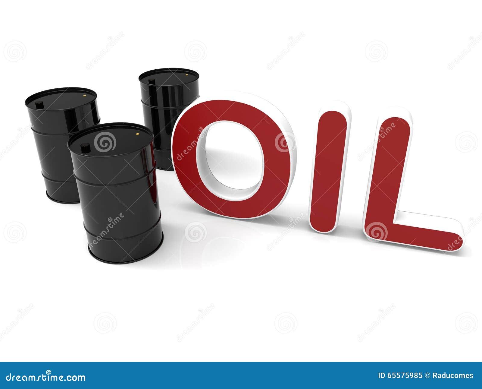 Tambores de óleo pretos no branco