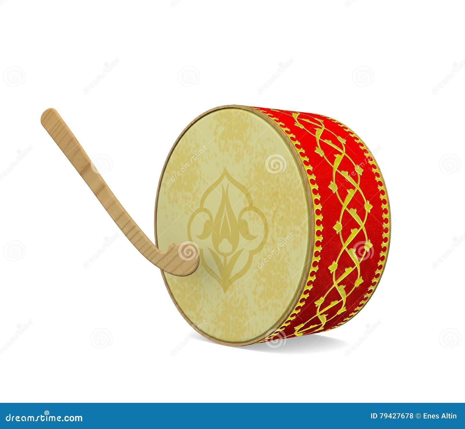 Tambour de Ramadan Instrument de musique turc de culture