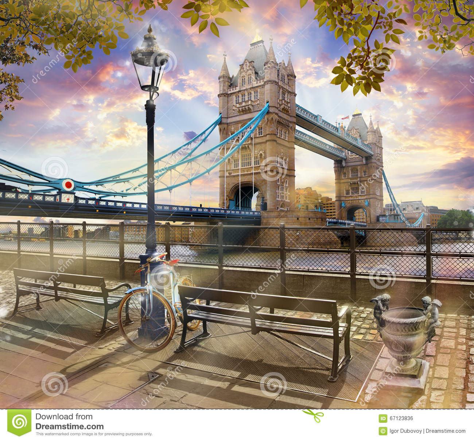 Tamisa, ponte da torre, Londres