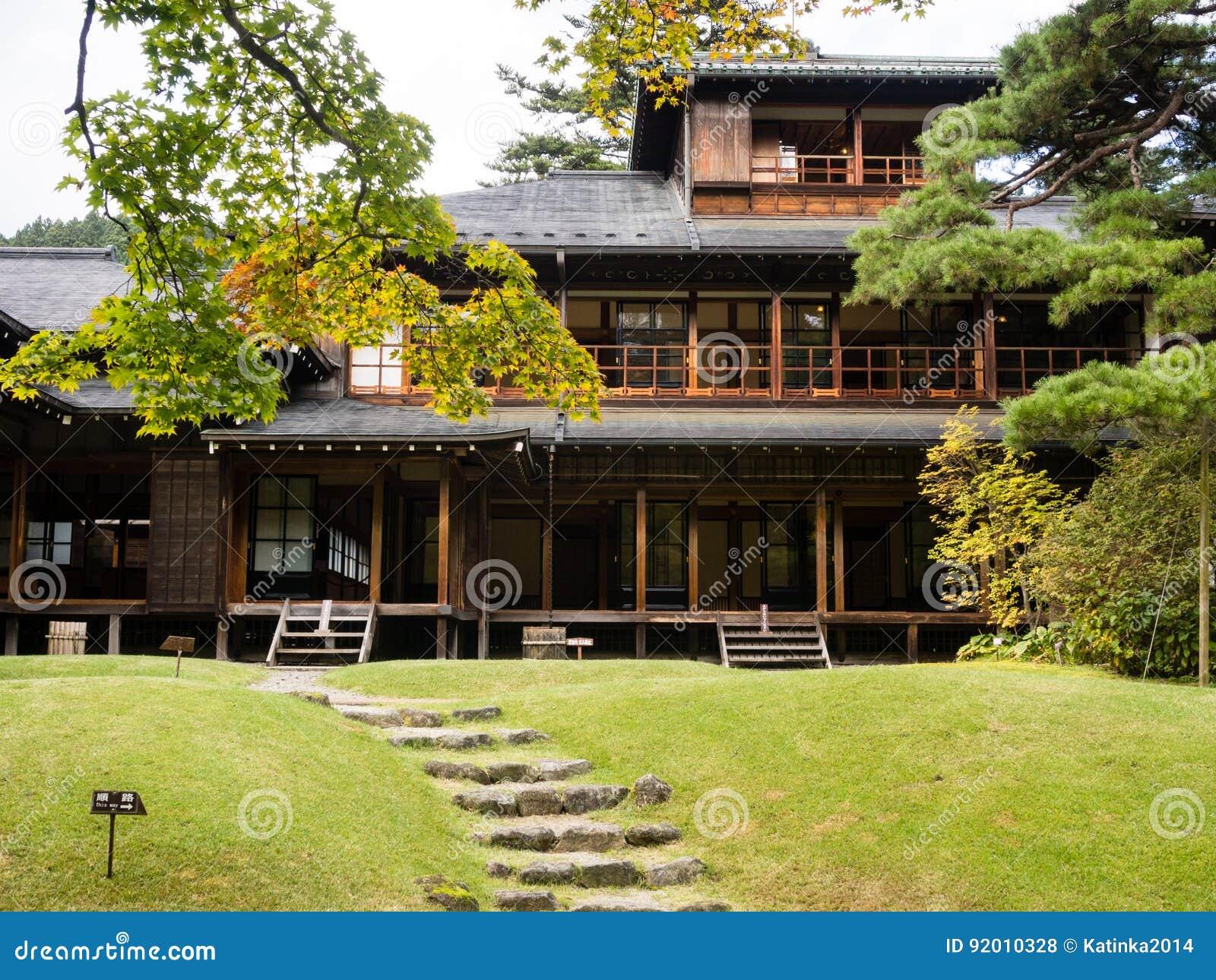 Tamozawa Imperial Villa in Nikko, Japan
