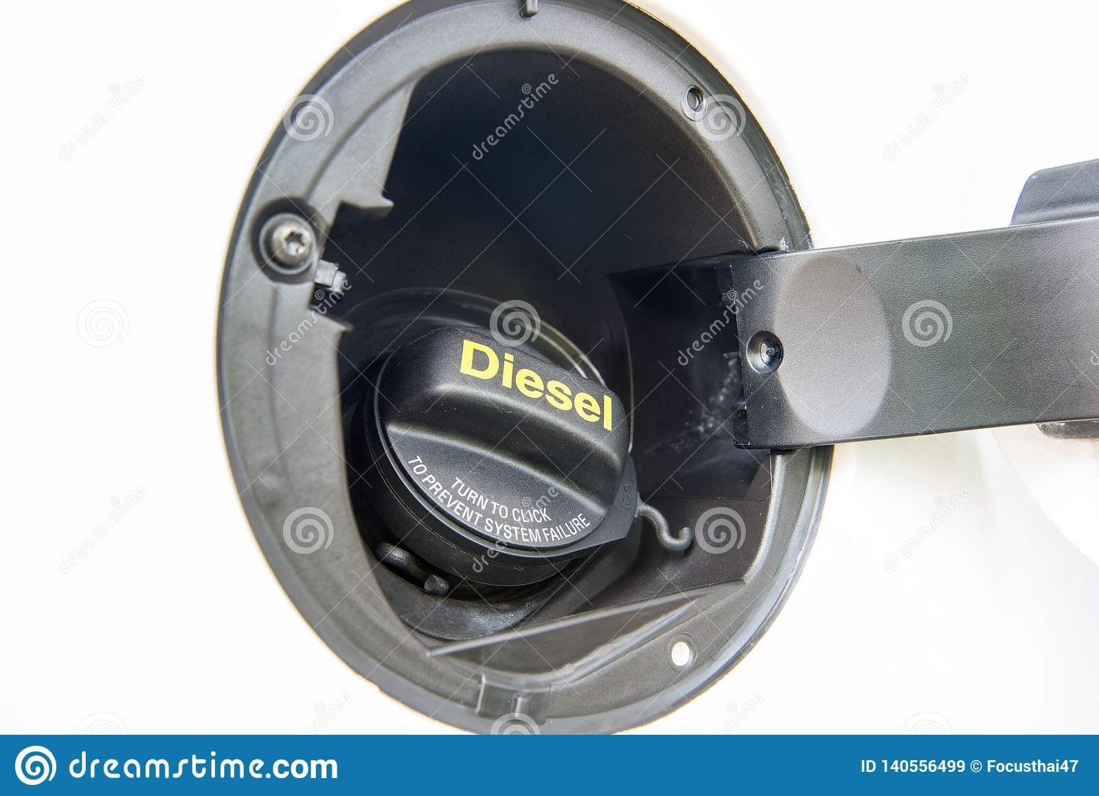 Tampão diesel do depósito de gasolina do euro 5 do carro