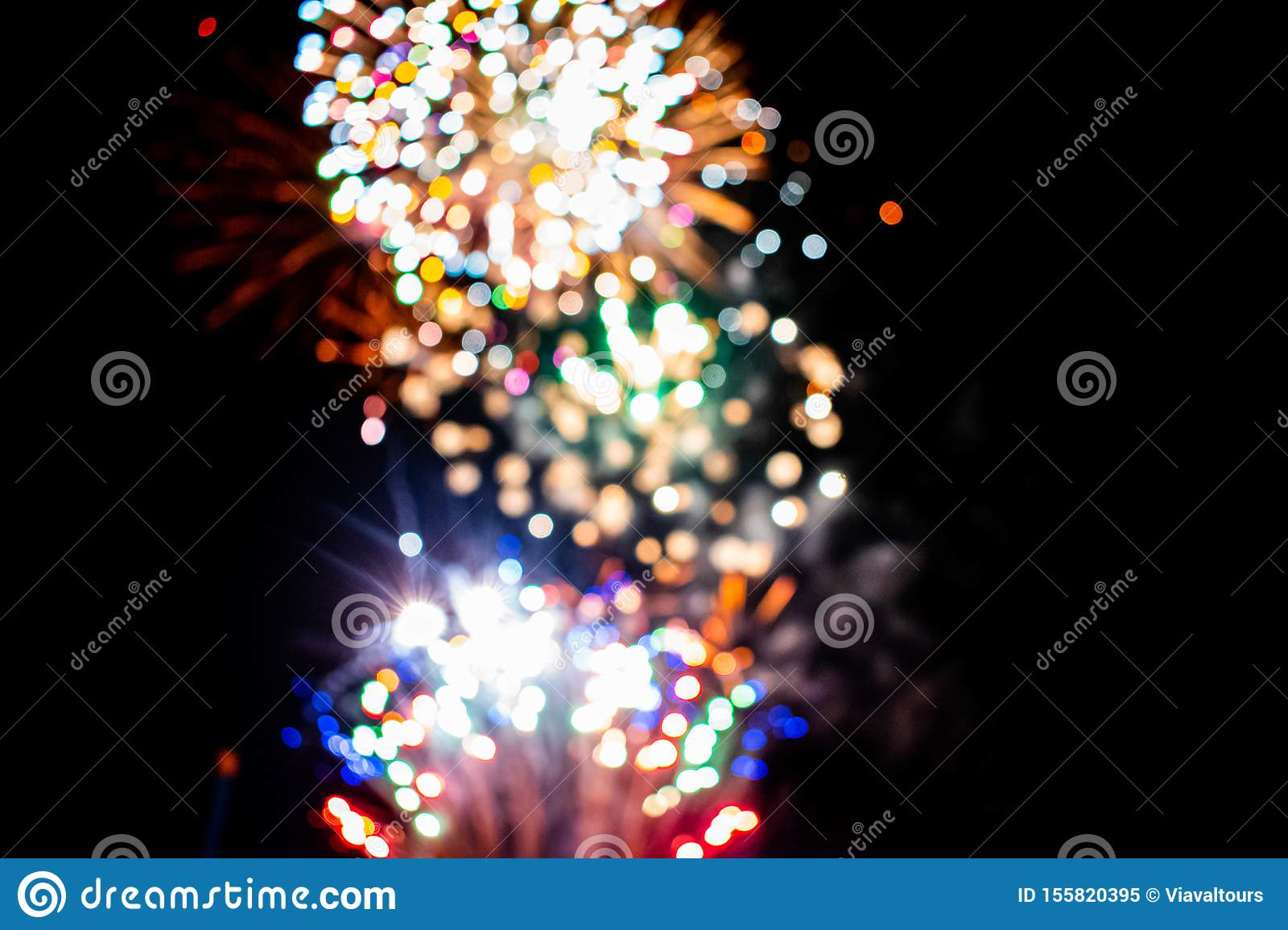 Colorful fireworks in Summer Nights 8