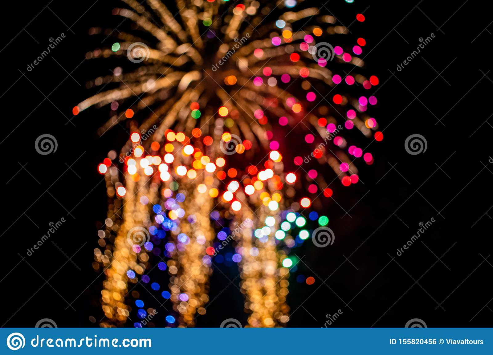 Colorful fireworks in Summer Nights 12