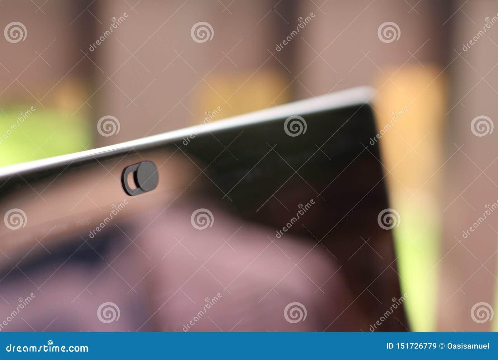 Tampa da câmara web para o portátil, a tabela ou o telefone