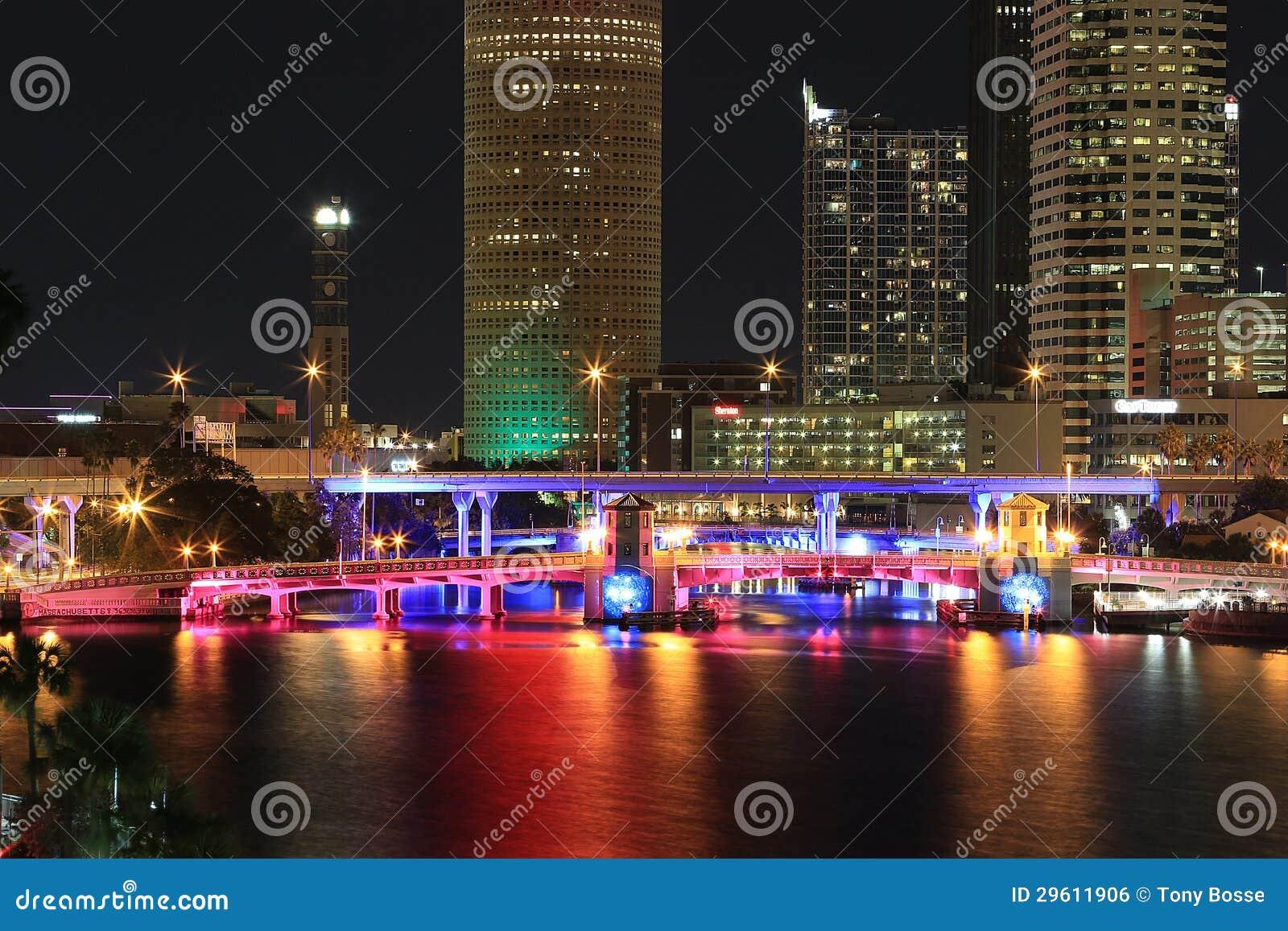 Tampa du centre, la Floride