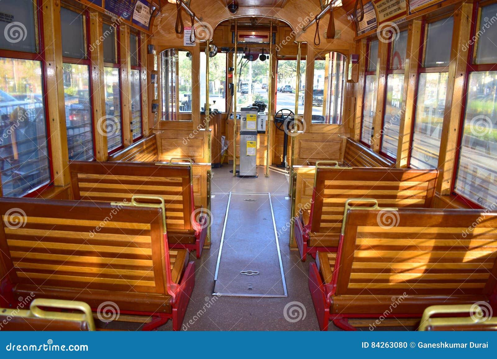 Tampa, Floryda Styczeń 07, 2016: - usa - TECO linii tramwaj S