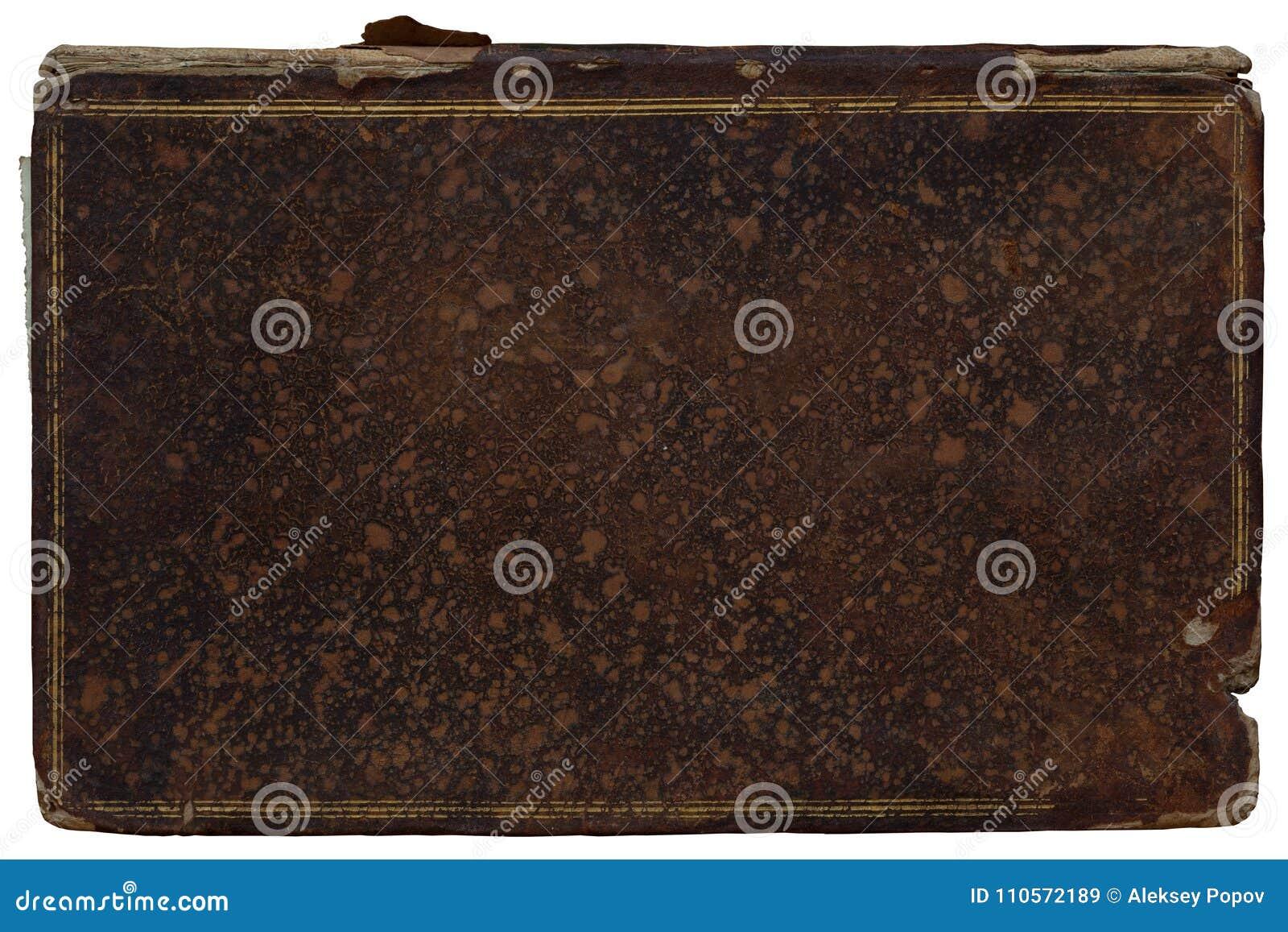 Tampas da textura de livros antigos