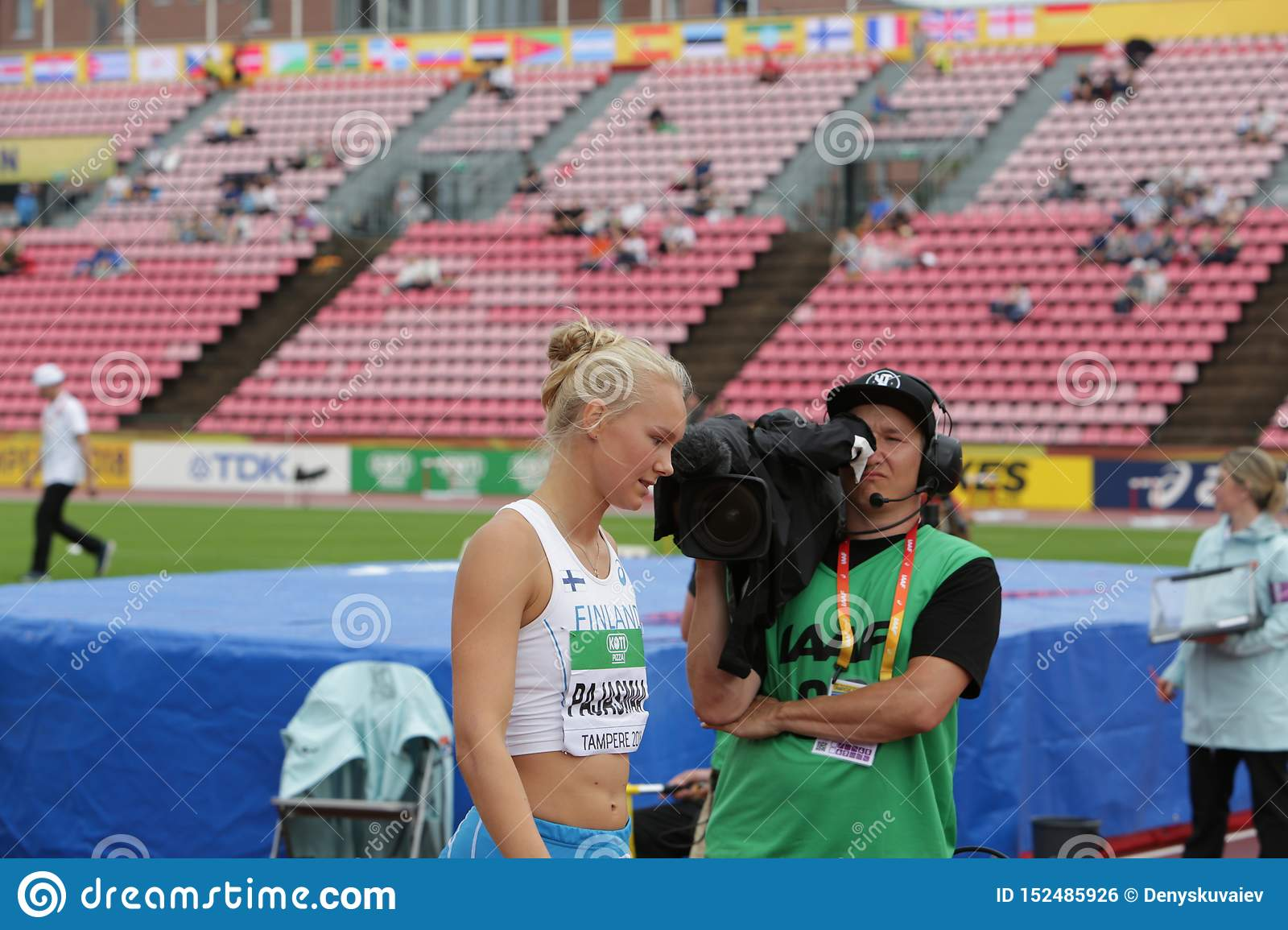 Pajas Youtube sanni pajasmaa from finland on heptathlon event in the iaaf